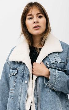 Jacket Kelly - Teddy lined jacket with pockets