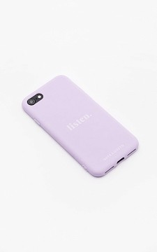 Phone Case Listen - Silicone iPhone case with neck cord
