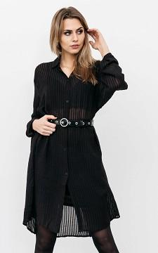 Blouse Gerlien - Long, see-through blouse