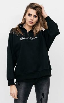 Pullover Veerle - Pullover mit Reißverschluss