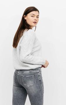 Pullover Heleen - Kurzer Pullover mit V-Ausschnitt