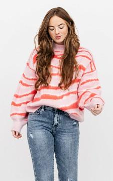 Sweater Lorinska - Sweater with high collar