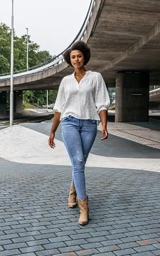 Jeans Khymo - Mid waist skinny jeans