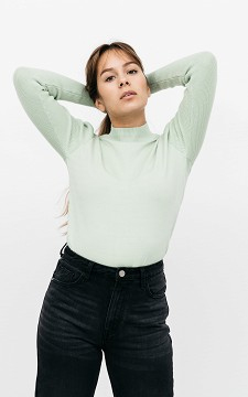 Pullover Rachel - Pullover mit Stehkragen