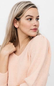 Pullover Roos - Flauschiger Pullover mit Puffärmeln