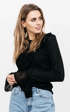 Pullover Charlotte - Pullover mit Rüschen