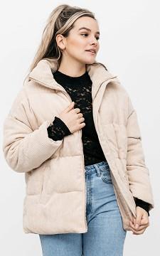 Jacke Daphne - Oversized Jacke mit Rippstoff
