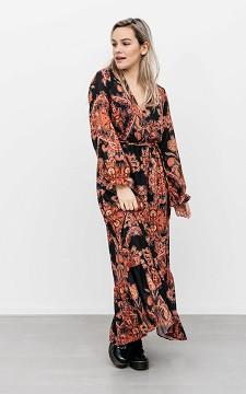 Kleid Davy - Langes Kleid mit Print