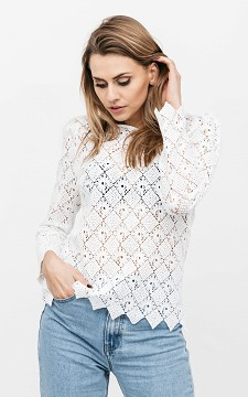 Top Kiki - Lace top with loose fitting sleeves