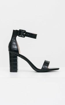 Heels Kate - Snakeskin pattern heels