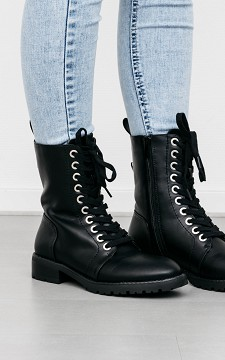 Boots Wilke - Boots with silver coated studs