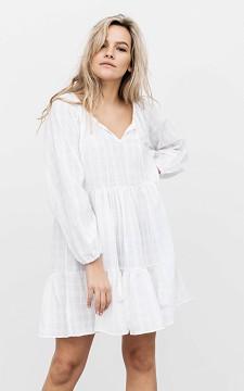 Jurk Leslie - Wijd uitlopende jurk met patroon