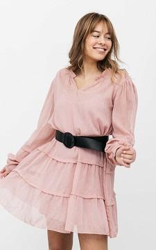 Dress Rachel - See-through V-neck dress