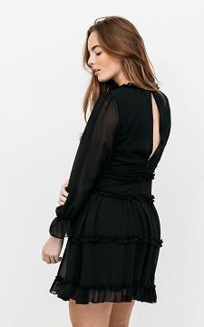 Kleid Clara - Kurzes Kleid mit Volant