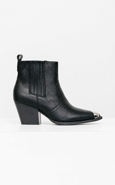 Boot Lieve - Pointed boots with zips