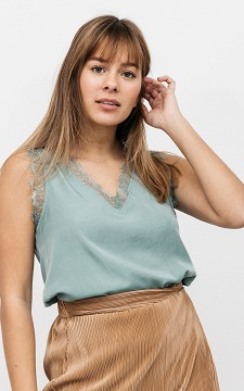 Top Bryonne - Lace top with buttons