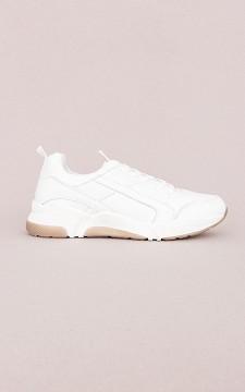 Sneaker Annemarie - Basic white sneakers
