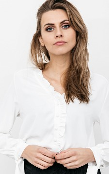 Blouse Esmee - Blouse with ruffles