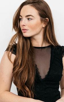 Body Karen - Lace see-through bodystocking top