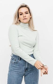 Shirt Carola - Long sleeve with high collar