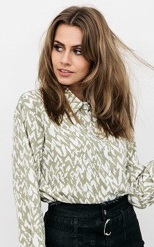 Blouse Petra - Patterned oversized blouse