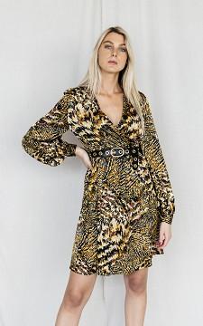 Kleid Kirsten - Modisches Kleid mit Leo-Print