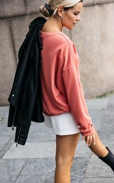 Jas Khloe - Leather look jas met slangenpatroon