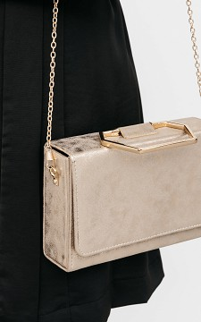 Bag Marlon - Bag with gold detailing