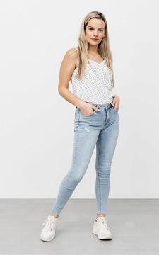 Jeans Alysha - Skinny Jeans mit offenem Beinsaum