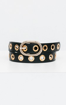 Belt Carla - Belt with metal rings