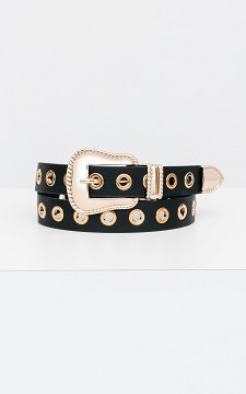 Belt Sofia - Belt with metal rings