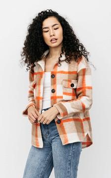 Jacket Serina - Checkered pattern blouse