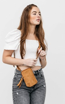 Bag Anna - Leather phone bag