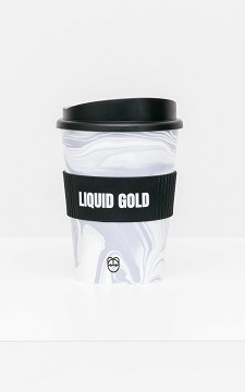 Travel Cup Liquid - Travel cup with grip hold