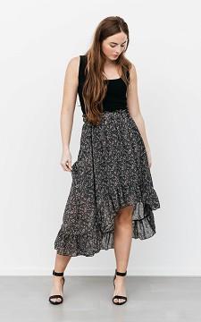 Skirt Patricia - Patterned maxi skirt