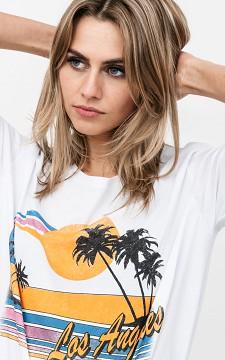 Shirt Carlyn - Basic Shirt mit Print