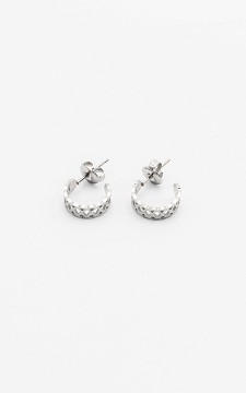 Earrings Sude - Stainless steel earrings