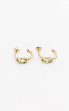 Earrings Domo - Stainless steel earrings