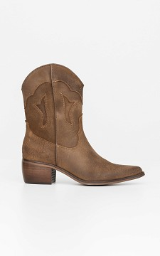 Boot Mona - Leather cowboy boots