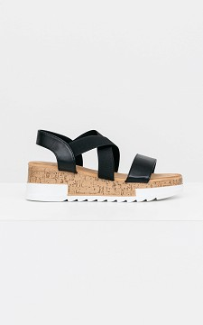 Sandal Sofy - Sandals with elasticated straps