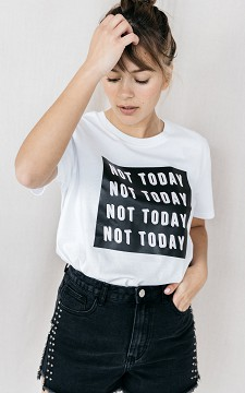 Shirt Today - Basic T-shirt with print