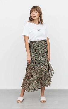 Skirt Zach - Wrap-around skirt with a waist tie
