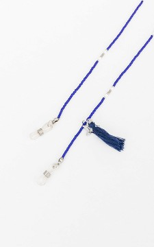 Neck Cord Logan - Cord for glasses with beading and pendats