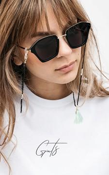 Brillenband Logan - Brillenkette mit Perlen