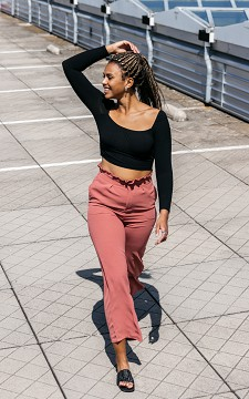 Trousers Kim - Straight fitting trousers