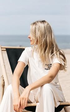 Shirt Progress - Lässiges Shirt mit Text und Print