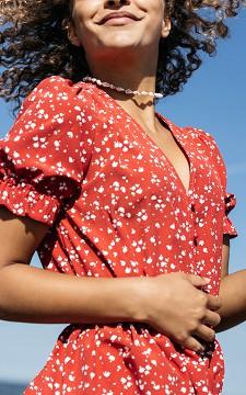 Jurk Lorenzo - Maxi jurk met knoopjes