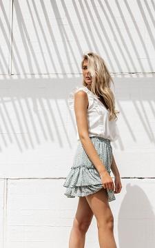 Rok Clara - Mini rok met ruffles
