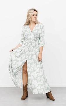 Dress Storm - Maxi dress with buttons