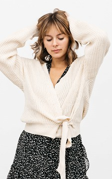 Jacket Bryce - Wrap around cardigan